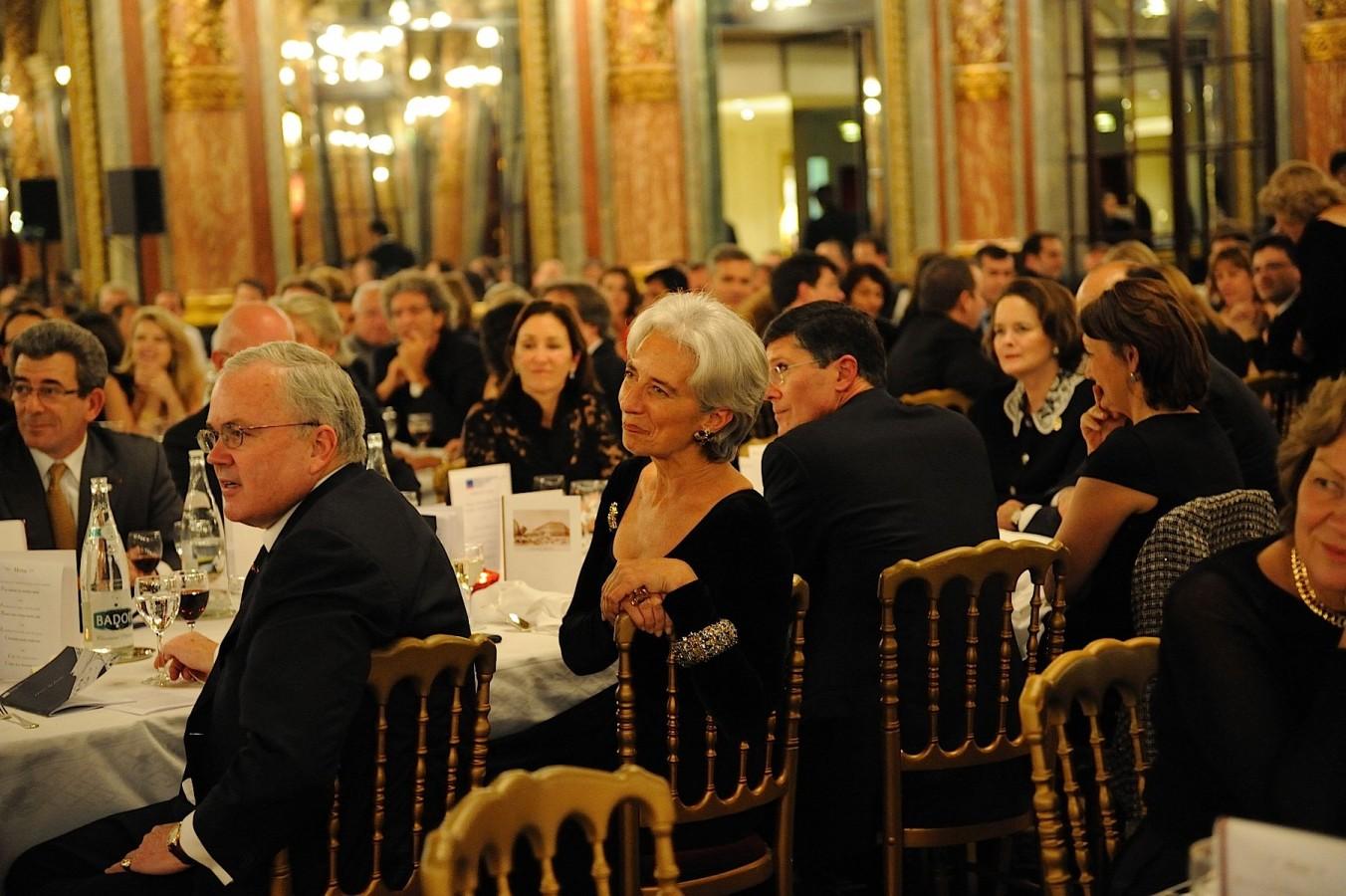 Craig Stapleton and Christine Lagarde