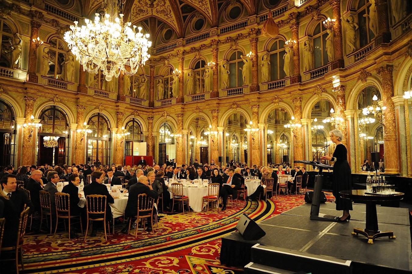 Dinner at Grand hotel Intercontinental Paris